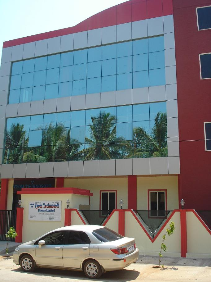 EXTERNAL LOOK OF 3-STOREYED INDEPENDENT BUILDING